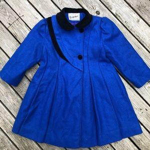 Vtg Rothschild Victorian Style Wool Coat girls 5